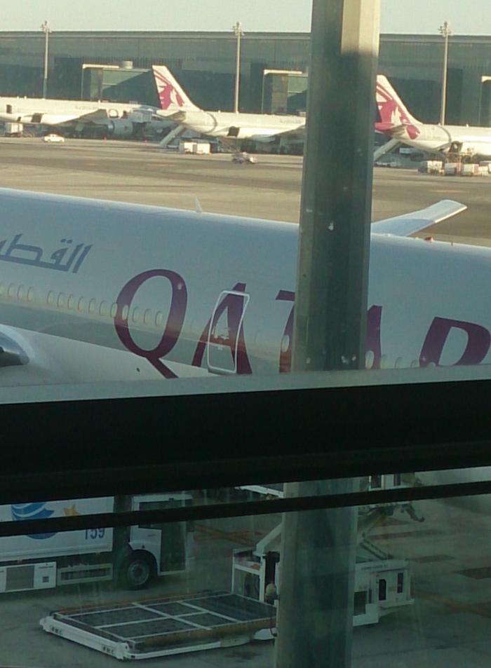 カタール航空。さてサービスはどんなだったか