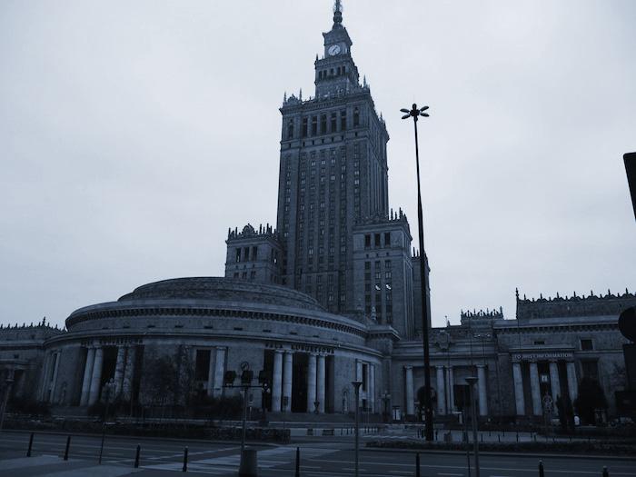 ワルシャワの象徴、文化科学宮殿