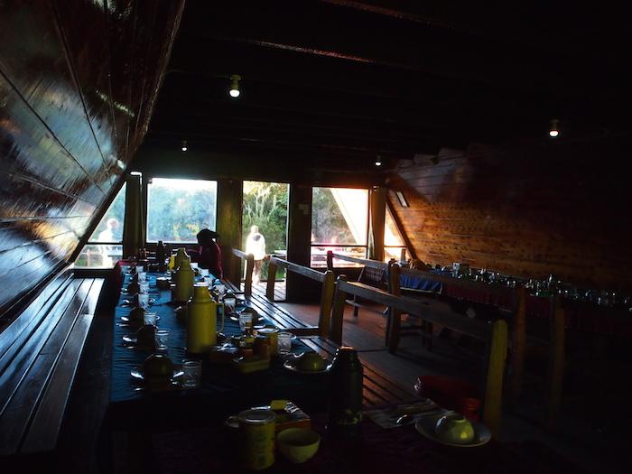 キリマンジャロ山小屋