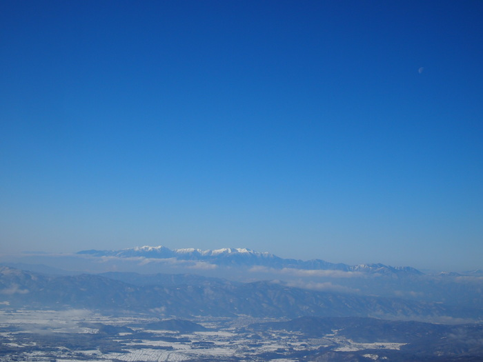 遠くの山がとにかく美しい