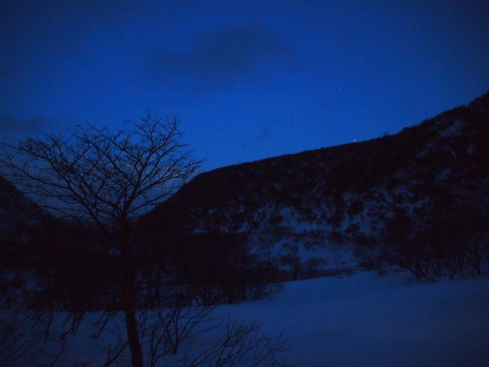 星は見えないけれど、素晴らしいブルー