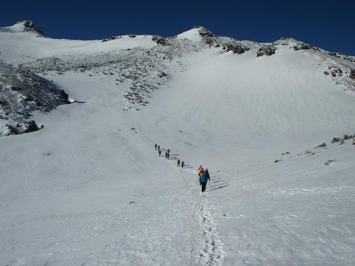 私のイメージする雪山トレーニング
