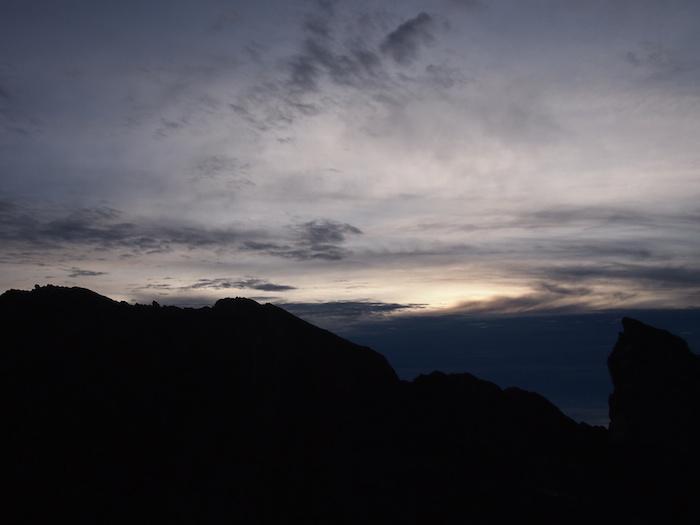 雲が出てきてしまいました