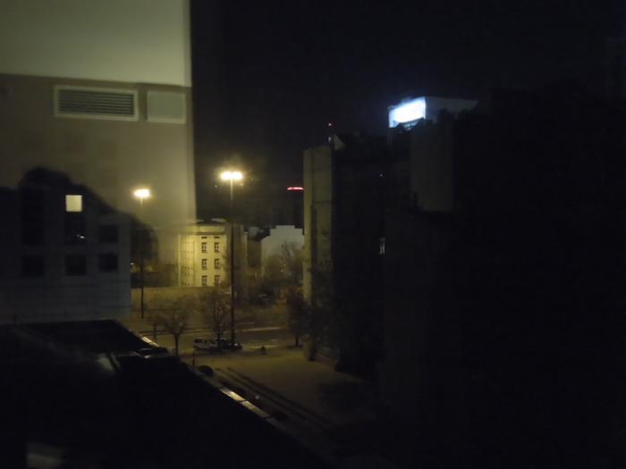 ポーランドの夜。デビッド・リンチの「インランド・エンパイア」を思い出す・・・