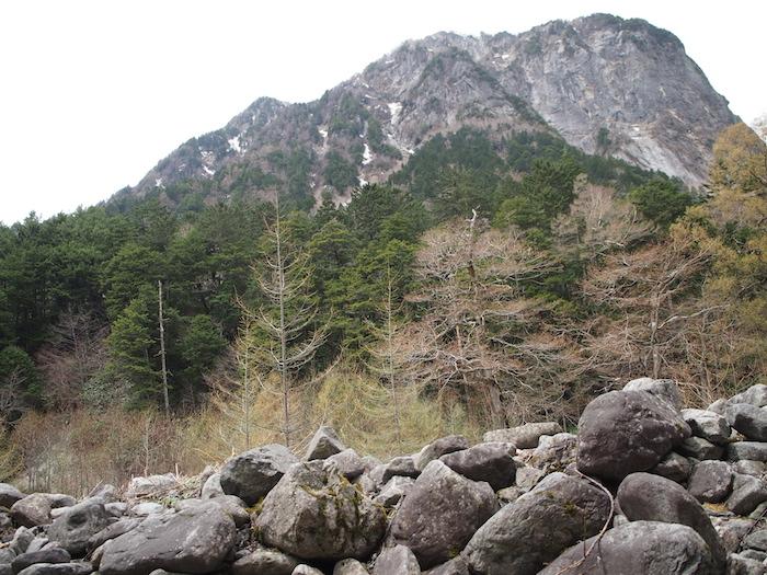 屏風岩が見えてきました