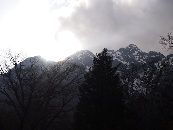 でも山には雲、あるよね! ね!