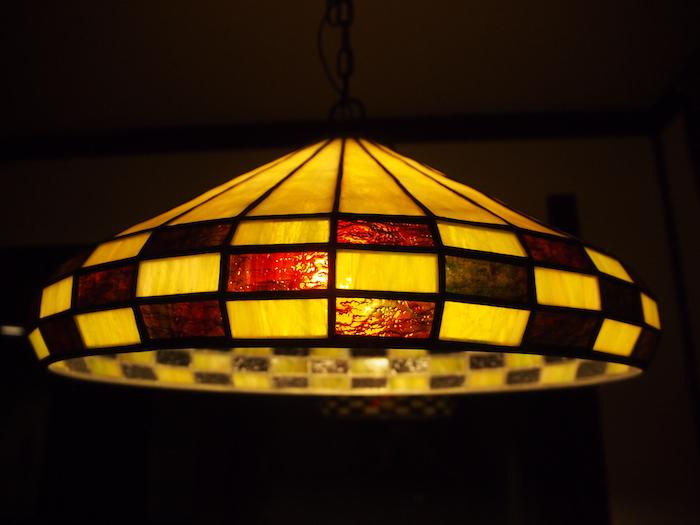 ランプもすてき