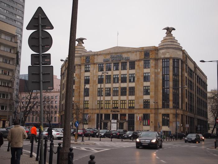こんな四角カクカクの建物が多い。かなり好み。