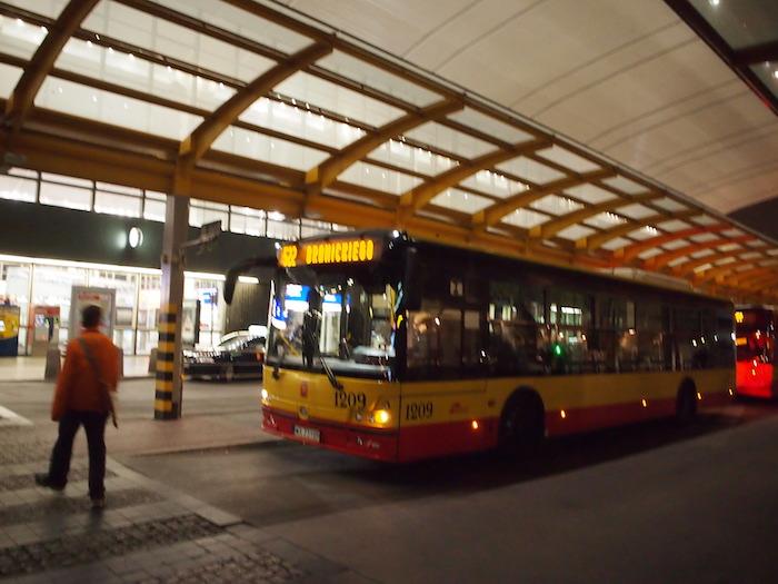 駅からはバスがたくさん出ていた。今度はこれに乗ってゆっくり旅したいなー