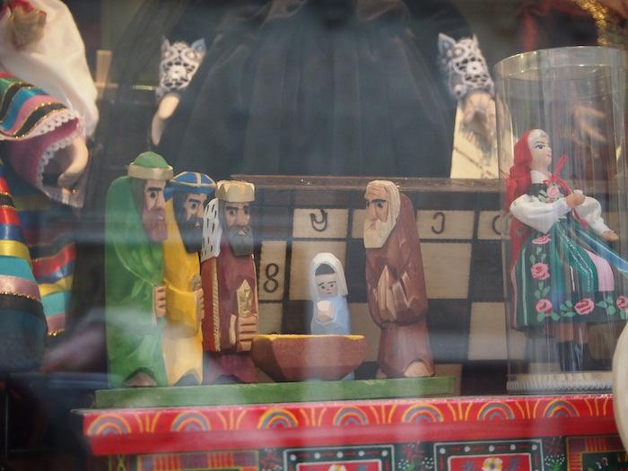 これはキリスト生誕のお人形