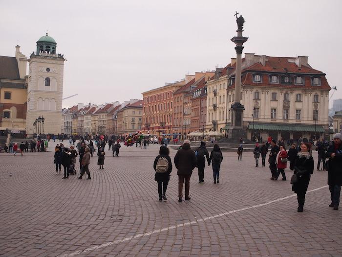 旧王宮広場の様子