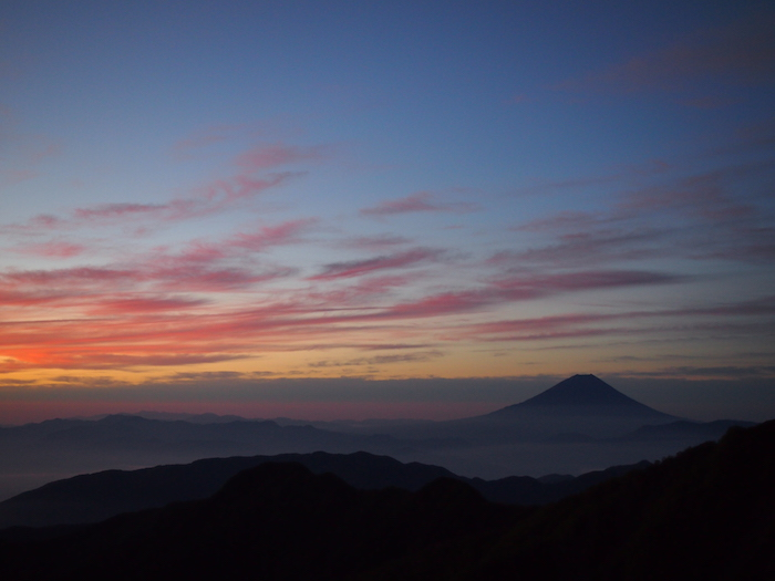 こんな富士山見た事ない