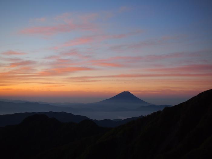 富士山もだんだんはっきりしてきました