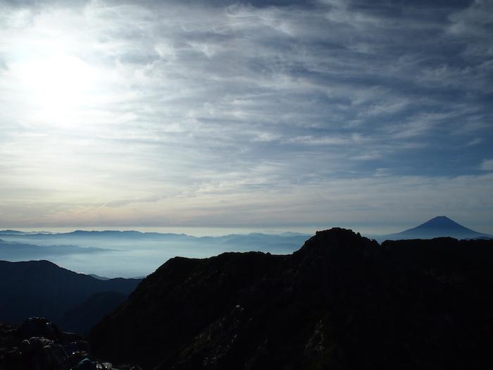 この時点での富士山はこんなの