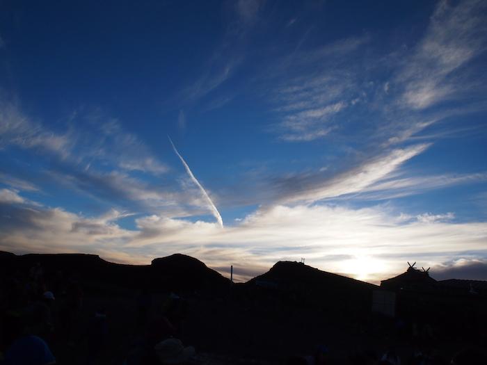 龍のような雲まで出現しました