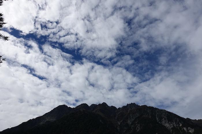 ちょっぴり雲は多いけれど