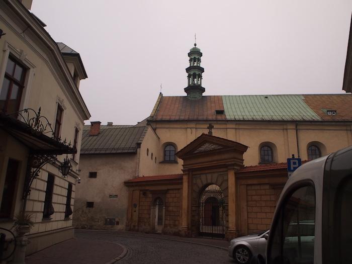 ホテルの周囲も古都の雰囲気