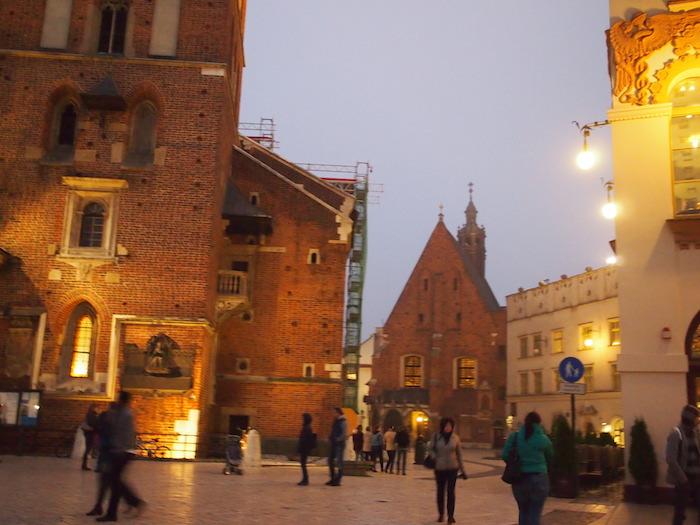 幻想的な旧市街